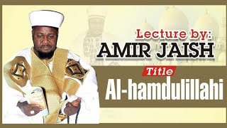 Alhamdulillahi l One of the last lecture of Sheikh Amir Jaish R.A before his Death