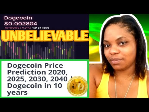 Dogecoin Cryptocurrency Price Predictions| Dogecoin Cryptocurrency Price Predictions For 20Yrs