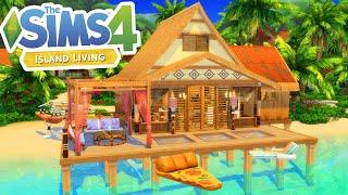 TROPICAL BEACH HOUSE RENO! | ISLAND LIVING The Sims 4 Speed Build