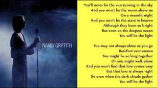 Watch Nanci Griffith Never Be The Sun video