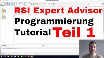 MetaTrader 4 (MT4) - Aufbau eines Expert Advisor (EA) - Programmierung Tutorial Teil 1
