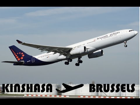 $3000!!!!!! BUSINESS CLASS Brussels Airlines REVIEW - KINSHASA - BRUSSELS | Luxury Travel