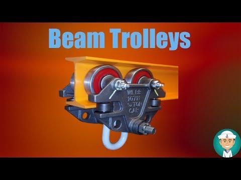 Beam Trolleys - How should you use Beam trolleys?