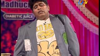 Jabardasth - Roller Raghu Performance on 7th February 2013