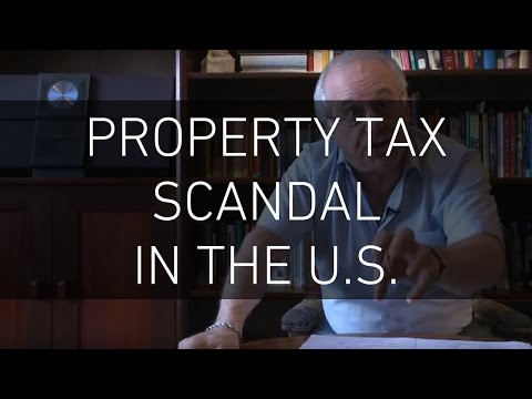 The Property Tax Scandal in The US - Professor Richard D Wolff
