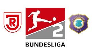 Jahn Regensburg vs Erzgebirge Aue / 2. Bundesliga 8. Spieltag 2021/22