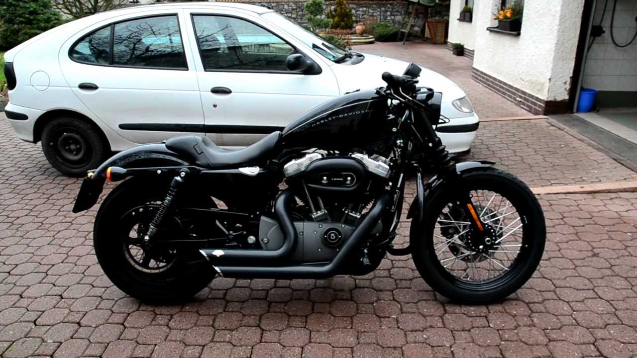Harley-Davidson XL1200N Nightster - YouTube