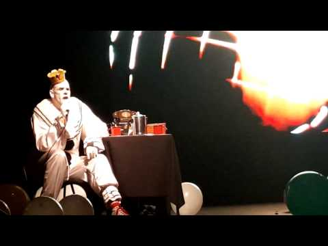 """Puddles Pity Party performs """"Telephone Line"""" by ELO"""