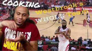 He's Cooking Their Whole Team : Houston Rockets vs OKC Thunder Full Game 2 Highlights Reaction