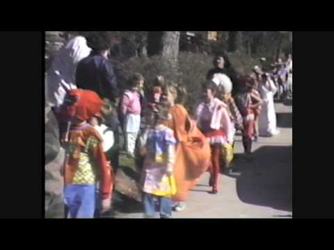 Halloween Parade Crafton Elementary School 1988