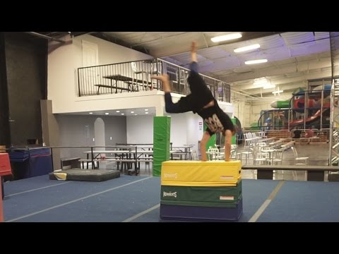 Chris Does a Gainer Kong?!