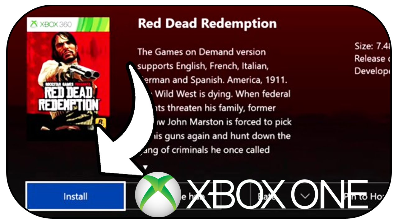 red dead redemption 2 disc wont install xbox one