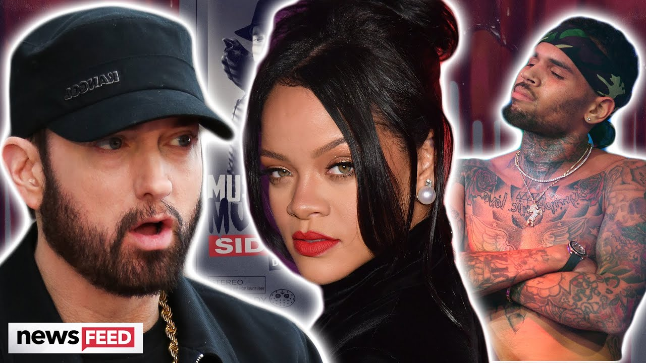 Rihanna Gets Apology From Eminem For DISGUSTING Chris Brown Lyric!