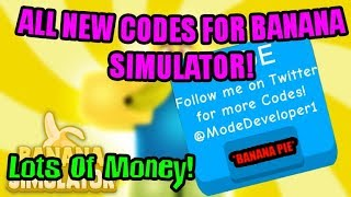 [NEW CODES]🍌Banana Simulator All New Codes | 🤑Best Money Codes | Roblox