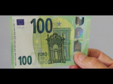 Neue Banknoten Warum Die Notenbank Den 100 Euro Schein Schrumpft