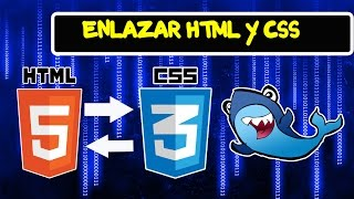 ENLAZAR HTML Y CSS EN BLOC DE NOTAS