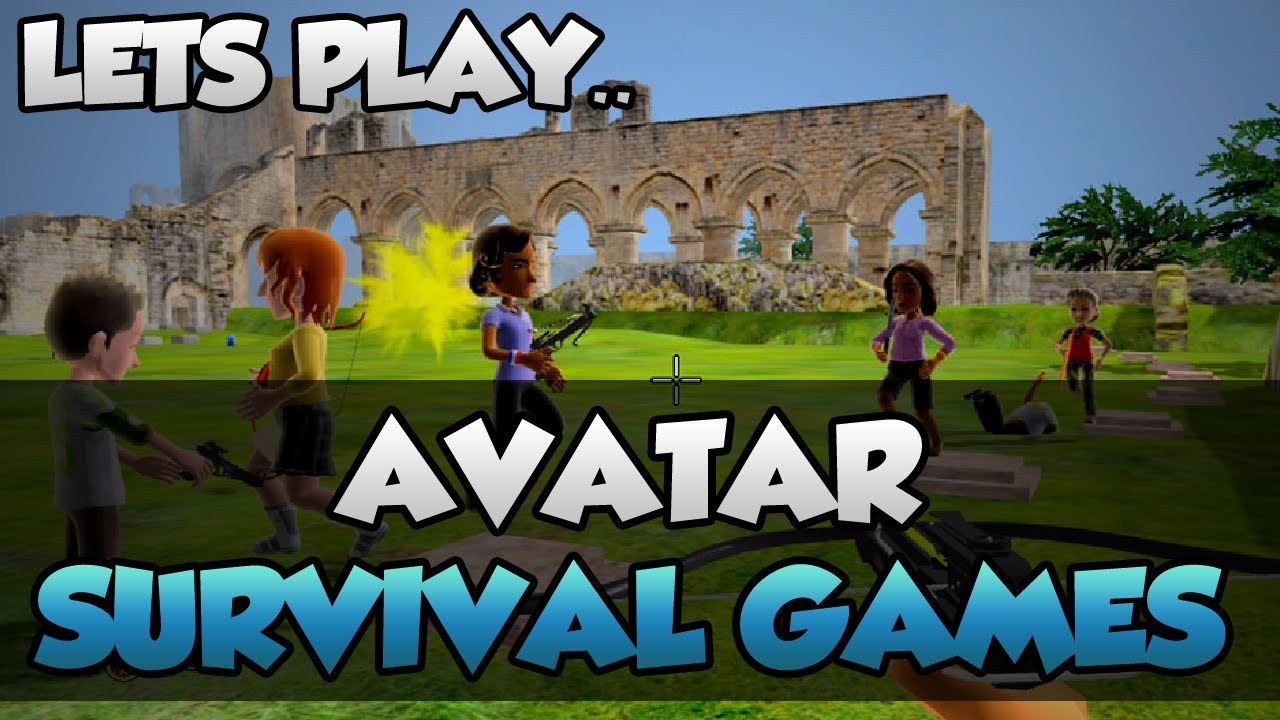 lets play avatar survival games funny xbox 360 hunger