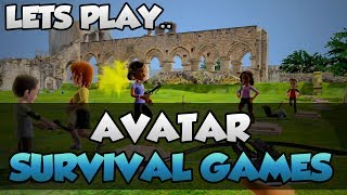 Lets Play Avatar Survival Games! - Funny Xbox 360 Hunger Games - [Xbox Live Indie Game]