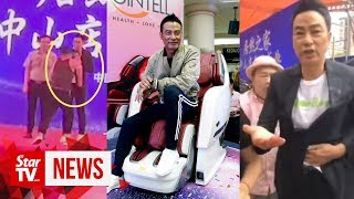 HK actor Simon Yam stabbed during promotional event