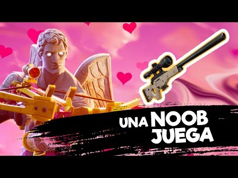 Fortnite | Una Noob Trata de Snipear