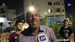 أهالي منطقة جبل الأمير حسن في الزرقاء يحولون منطقة مهملة إلى حديقة (20/7/2019)