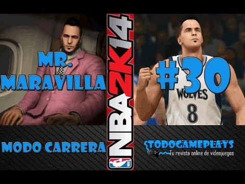 NBA 2K14 gameplay en español | ¡Mejor valoración para MR. MARAVILLA (A)!