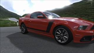 2013 Ford Mustang Boss 302 Review August Playseat Car Pack DLC Forza 4
