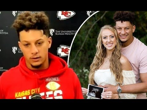 Patrick Mahomes and Brittany Matthews are in separate bedrooms
