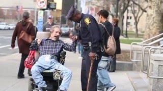 Hartford Police Officer Jimmy Barrett, stationed at City Hall, has ...