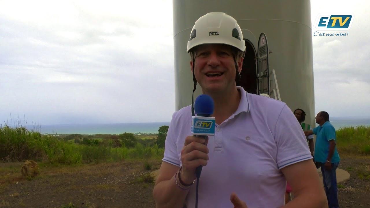 Yannick JADOT, en visite en Guadeloupe