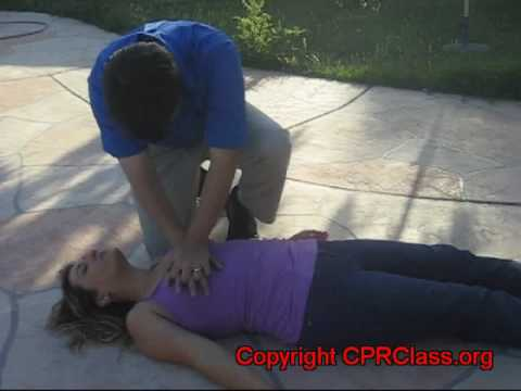 Adult CPR from Airway, Breathing, and circulation - 2010 Guidelines