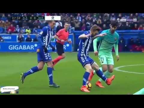 Alaves Vs Barcelona Full Match 0 6 Laliga Santander 1122017