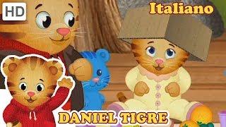 Daniel Tiger in Italiano 😆 Siamo Divertenti! | Video per Bambini