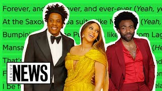 "Beyoncé, JAY-Z & Childish Gambino's ""MOOD 4 EVA"" Explained 