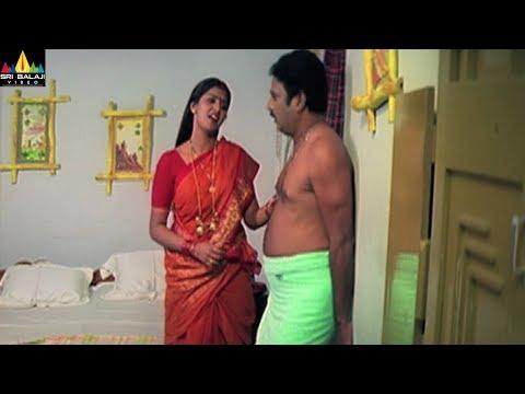 Konchem Touchlo Vunte Cheputanu Movie Scenes | Bhuvaneswari With Krishna Bhagavan | Sri Balaji Video