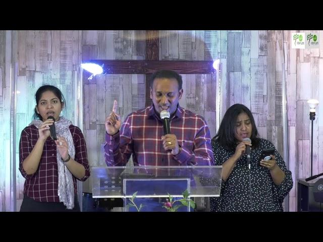 LATTER RAIN | PR. MATHEW | NEW LIFE CHURCH DUBLIN | English Worship Service| 18-10-2020