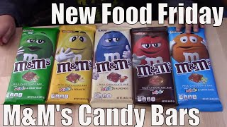 New Food Friday | Taste Test | M&m Candy Bars | 4 Flavors