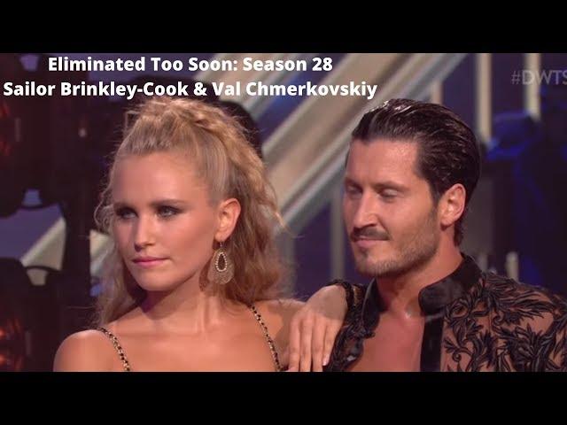 Eliminated Too Soon\: Season 28 Sailor Brinkley-Cook & Val Chmerkovskiy