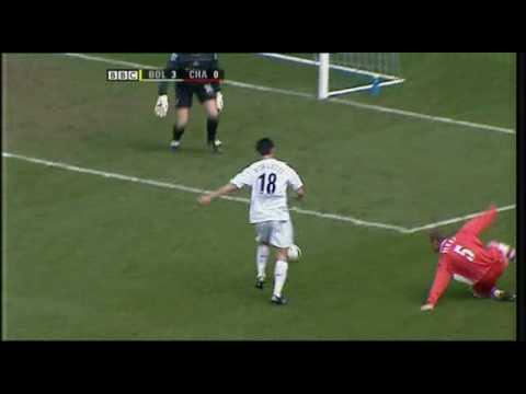 Gol de Jared Borgetti (bolton) contra el Charlton