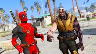 Deadpool & Cable Hot Training! Funny Superhero Animation Video