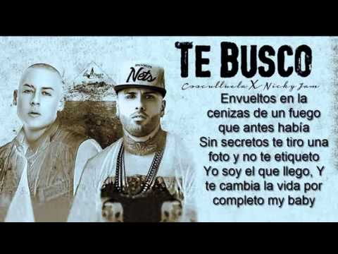 Te Busco   Cosculluela Feat Nicky Jam Original + Descarga Gratis Reggeton 2015
