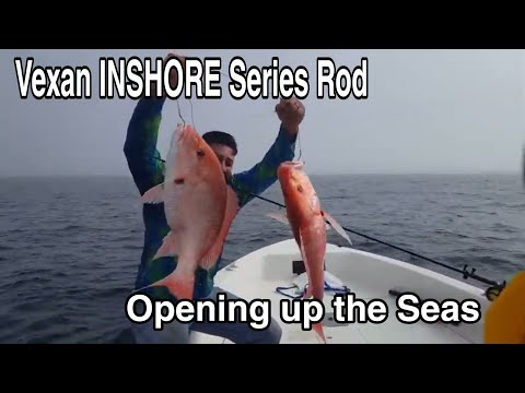 Like A Boss Pro Fishing With Vexan INSHORE Series Rods