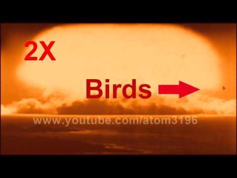 HD Ultra high speed camera filmed atomic bomb fireball