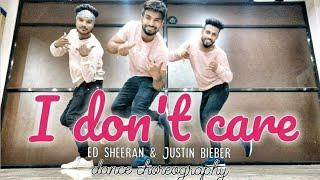 Ed Sheeran & Justin Bieber - I Don't Care  | Dance choreography | Hip-hop dance | Timelapse dance