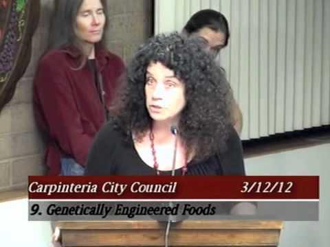 Carpinteria City Council Supports GMO Labeling