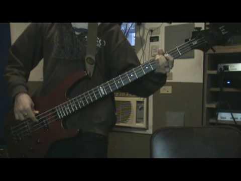 The Yellow Monkey - Tactics Bass Cover (Rurouni Kenshin's Ending)