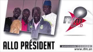 ALLO PRESIDENCE - Pr : NDIAYE - DOYEN & PER BOU KHAR - 15JANVIER 2021