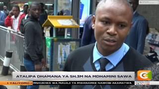 Evans Kasyoki aachiliwa kwa dhamana