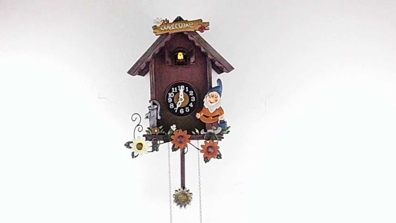 Modern cuckoo clock 60922 youtube - Contemporary cuckoo clock ...
