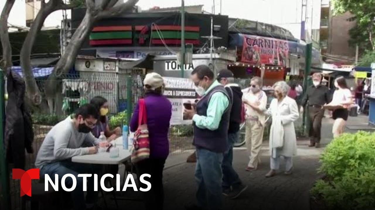 México se prepara para una polémica consulta popular   Noticias Telemundo